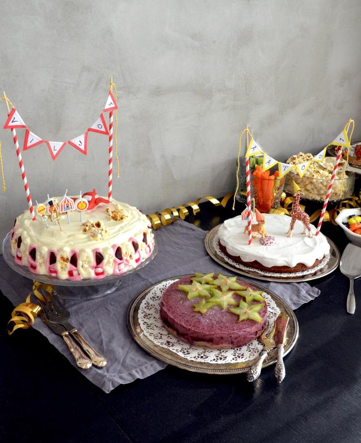 Sirkussynttärit - Circus Birthday Party / Sweets by Sini
