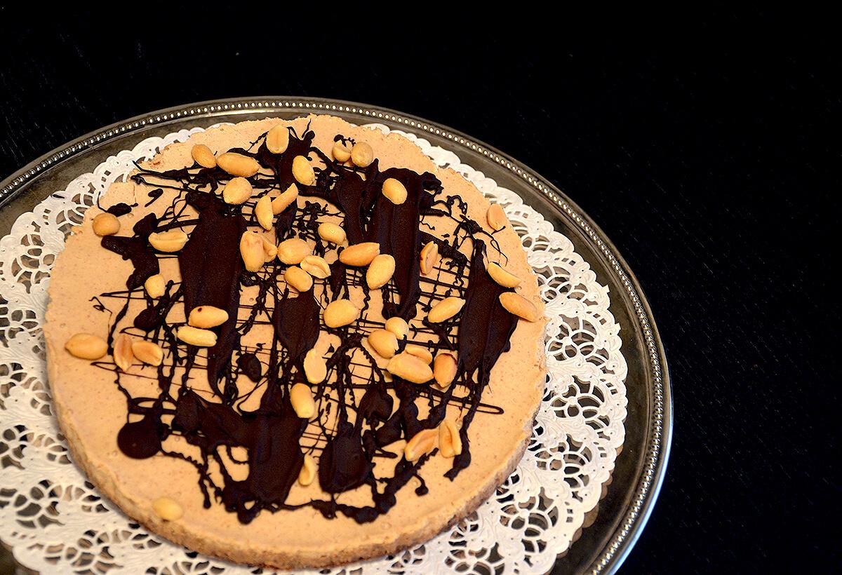 Snickers-raakakakku (Low FODMAP, vegaaninen, gluteeniton) / Snickers Raw Cake (Low FODMAP, Vegan, Gluten-free) / Puhtaasti hyvää